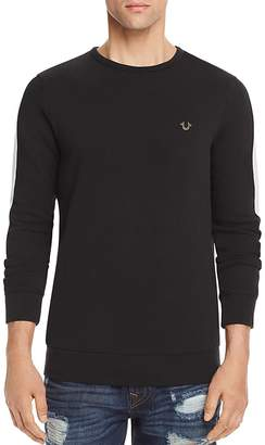 True Religion Contrast Stripe Crewneck Sweatshirt