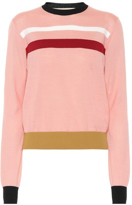 Marni Striped wool-blend sweater