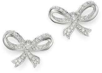 Bloomingdale's Diamond Bow Stud Earrings in 14K White Gold, 0.65 ct. t.w. - 100% Exclusive