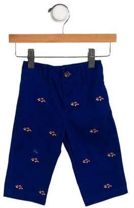Ralph Lauren Boys' Embroidered Straight-Leg Pants