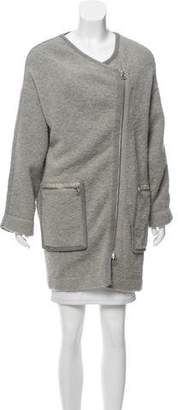3.1 Phillip Lim Oversize Zip-Up Cardigan