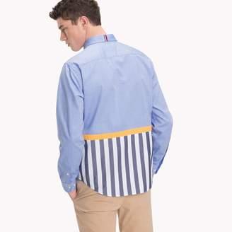 Tommy Hilfiger Stripe Tail Regular Fit Shirt