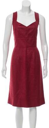 Dolce & Gabbana Silk A-Line Dress