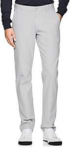 Barneys New York MEN'S PIMA COTTON CHINOS - LIGHT GRAY SIZE 28
