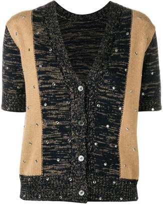 No.21 short-sleeved cardigan