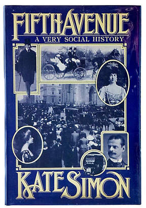 One Kings Lane Vintage Fifth Avenue: A Very Social History