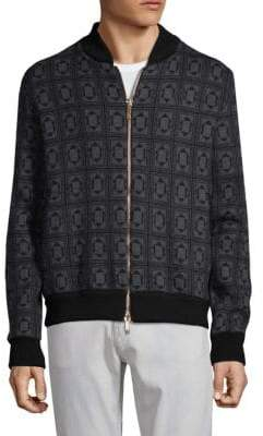 Etro Printed Wool Bomber Jacket