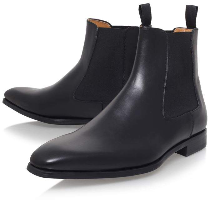 Magnanni Leather Chelsea Boot