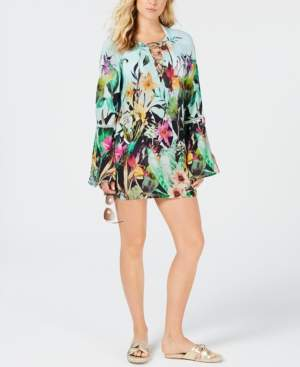 Nanette Lepore Bloomin' Botanical Tunic Cover-Up Women's Swimsuit
