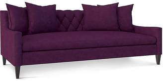 Andrew Martin Stuart Sofa - Purple Velvet