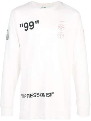 dfc1065b3e49 Mens Off White Sweatshirt - ShopStyle