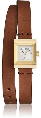 Gucci Women's G-Frame Small Square Watch