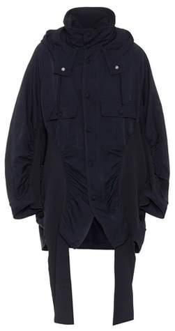 Jacke aus einem Baumwoll-Leinengemisch