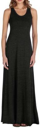 Alternative Apparel Basic Black Maxi Dress $85 thestylecure.com