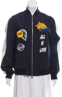 Stella McCartney Embroidered Varsity Jacket w/ Tags