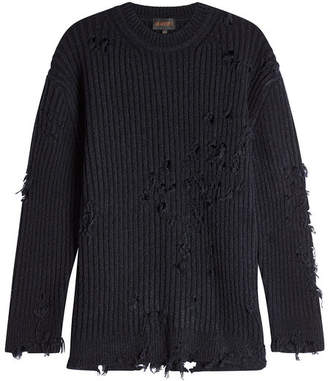 Yeezy Distressed Pullover with Wool