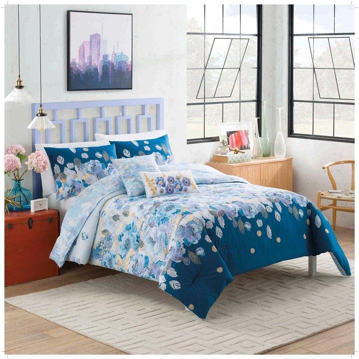 Blissliving HomeBlissliving Home Vue Dharma Reversible Comforter Set - Full/Queen - 5 pc