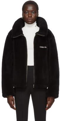 Ambush Black Wool Fleece Jacket