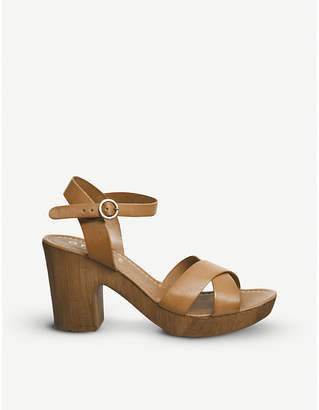 Office Morelle leather sandals