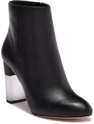 Enzo Angiolini Hadie Leather Block Heel Boot