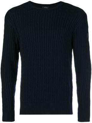 Paul & Shark cable knit jumper