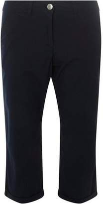 Dorothy Perkins Womens Navy Cropped Trousers