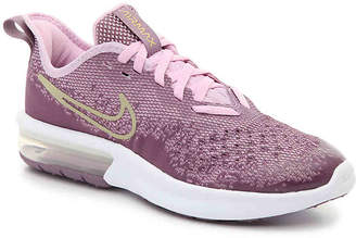 Nike Sequent 4 Youth Running Shoe - Girl's