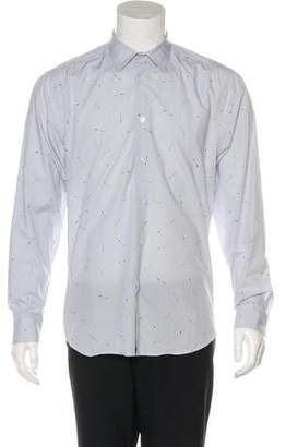 Paul Smith Patterned Dress Shirt