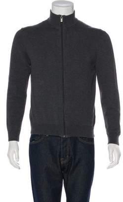 Michael Kors Mock Neck Zip Sweater