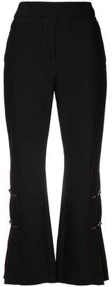 Ellery pleated detail cropped trousers
