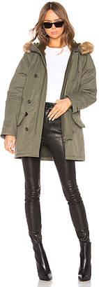 A.P.C. Parka Faux Fur Trim Extreme Jacket