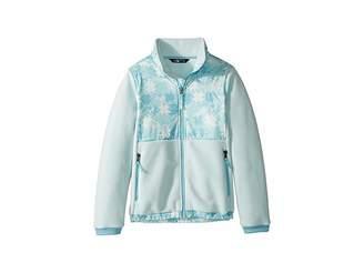 The North Face Kids Denali Jacket (Little Kids/Big Kids) (Origin Blue Snowflake Fair Isle Print