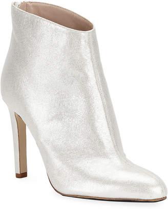 Sarah Jessica Parker Metallic Ankle Bootie