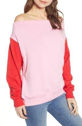 BP Colorblock Fleece Sweatshirt