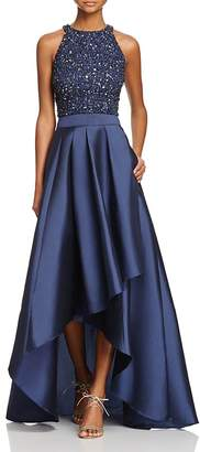 Adrianna Papell Sequin-Bodice Two-Piece Ball Gown - 100% Exclusive $298 thestylecure.com