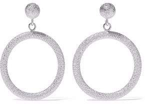 Carolina Bucci Gypsy Small 18-Karat White Gold Hoop Earrings