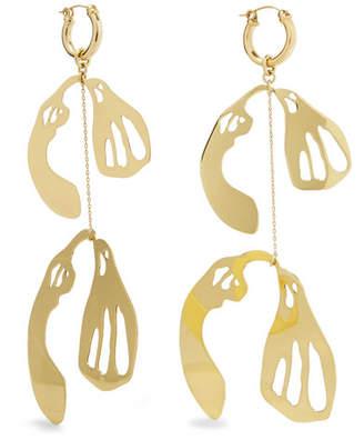 Ellery Supercluster Gold-plated Earrings
