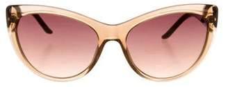 Just Cavalli Translucent Cat-Eye Sunglasses