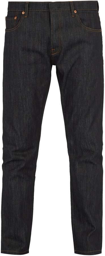 VALENTINO Rockstud Untitled slim-fit jeans