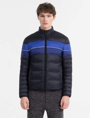 Calvin Klein colorblock down jacket