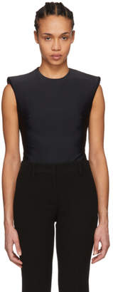 Versace Black Sleeveless Bodysuit