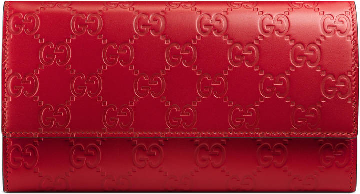 Gucci Gucci Signature continental wallet