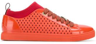 Vivienne Westwood perforated lace-up sneakers