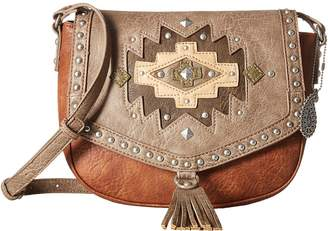 American West Earth Bound Crossbody Flap Bag Cross Body Handbags