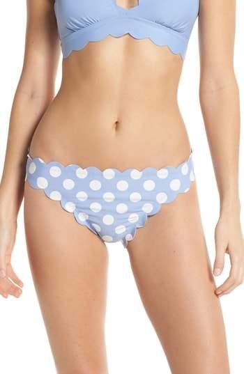 Scallop Hipster Bikini Bottoms