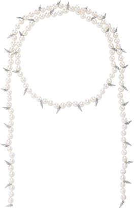Fallon Linda Spike Lariat Necklace