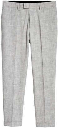 H&M Suit Pants Skinny fit - Gray