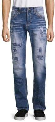 Affliction Gage Fallen Distressed Jeans