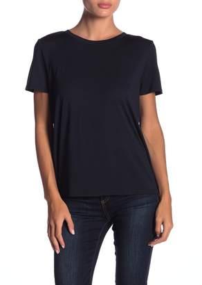 14th & Union Shirred Mixed Media T-Shirt (Regular & Petite)