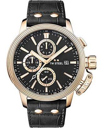 TW Steel CEO Adesso Japanese-Quartz Watch with Stainless-Steel Strap